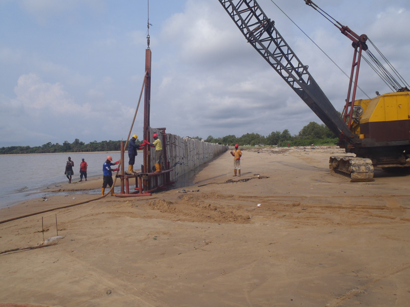 NDDC – Construction of Shore Protection & Reclamation